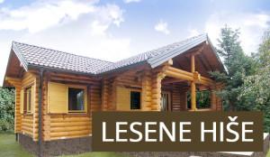 Lesene masivne hiše