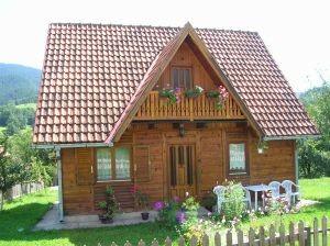 Lesena montažna hiša
