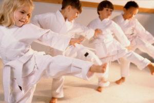 borilne veščine za otroke