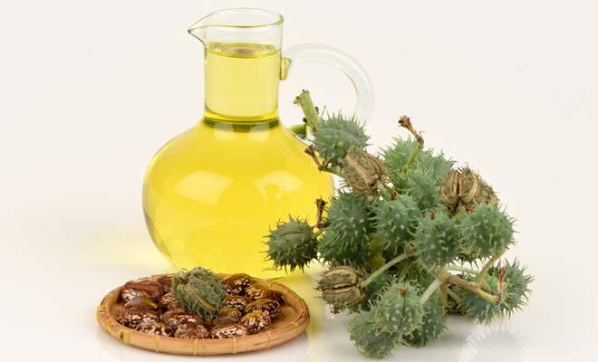 ricinusovo olje za obraz